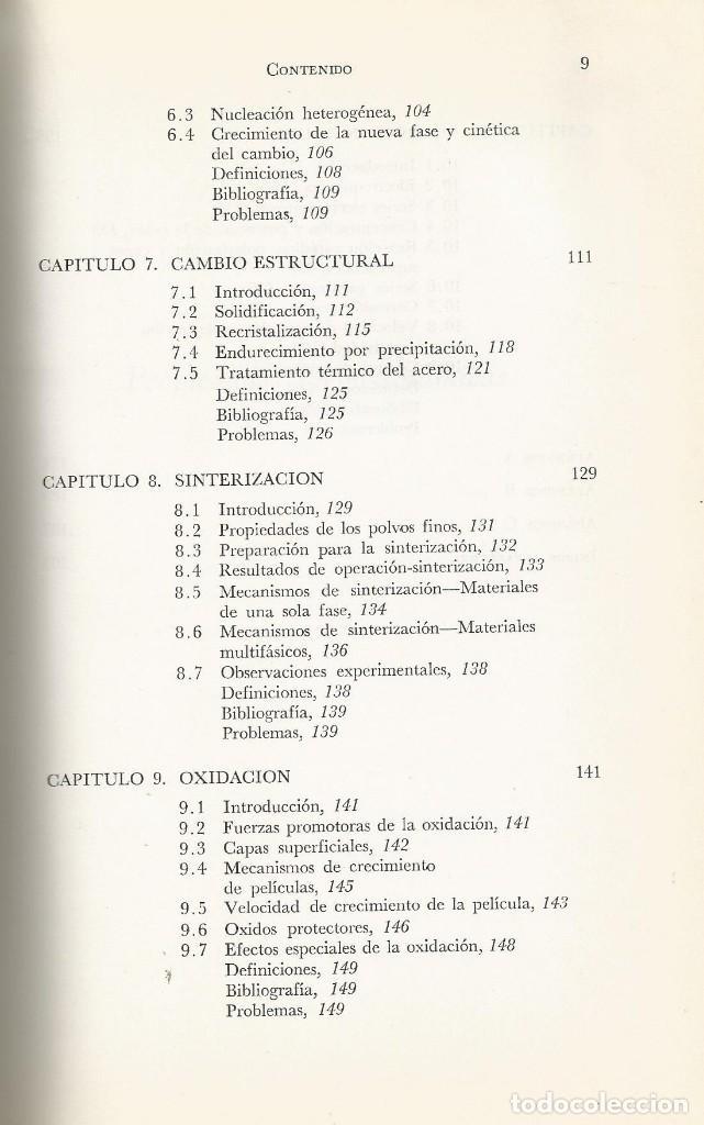 Libros de segunda mano de Ciencias: Ciencia de los materiales. 3 tomos. W. Moffatt-G. Pearsall-J. Wulff. - Foto 8 - 183857123