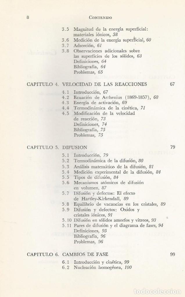 Libros de segunda mano de Ciencias: Ciencia de los materiales. 3 tomos. W. Moffatt-G. Pearsall-J. Wulff. - Foto 9 - 183857123