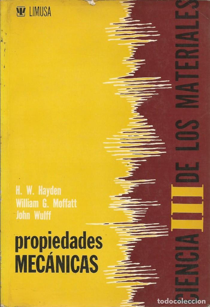 Libros de segunda mano de Ciencias: Ciencia de los materiales. 3 tomos. W. Moffatt-G. Pearsall-J. Wulff. - Foto 10 - 183857123