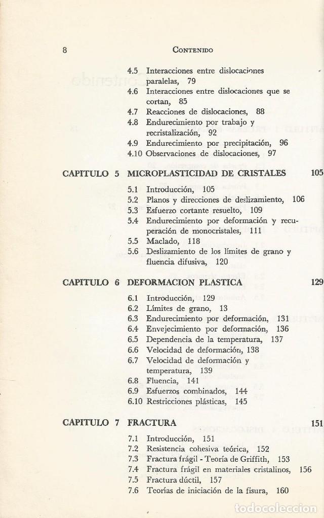 Libros de segunda mano de Ciencias: Ciencia de los materiales. 3 tomos. W. Moffatt-G. Pearsall-J. Wulff. - Foto 11 - 183857123