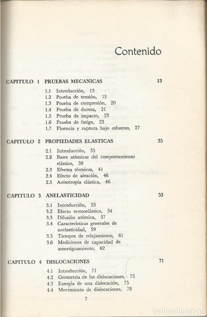 Libros de segunda mano de Ciencias: Ciencia de los materiales. 3 tomos. W. Moffatt-G. Pearsall-J. Wulff. - Foto 13 - 183857123