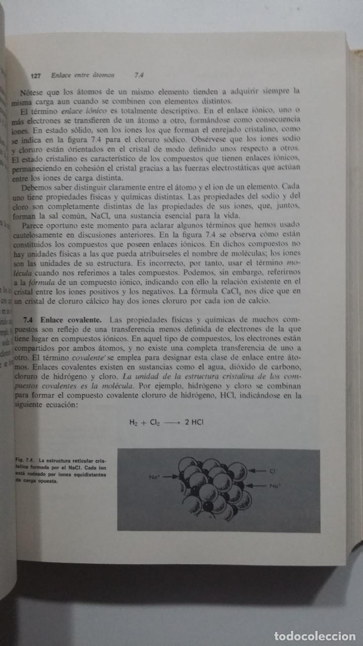 Libros de segunda mano de Ciencias: Química moderna - Paul R. Frey. MONTANER Y SIMON. 1968. TDK422 - Foto 3 - 183858578