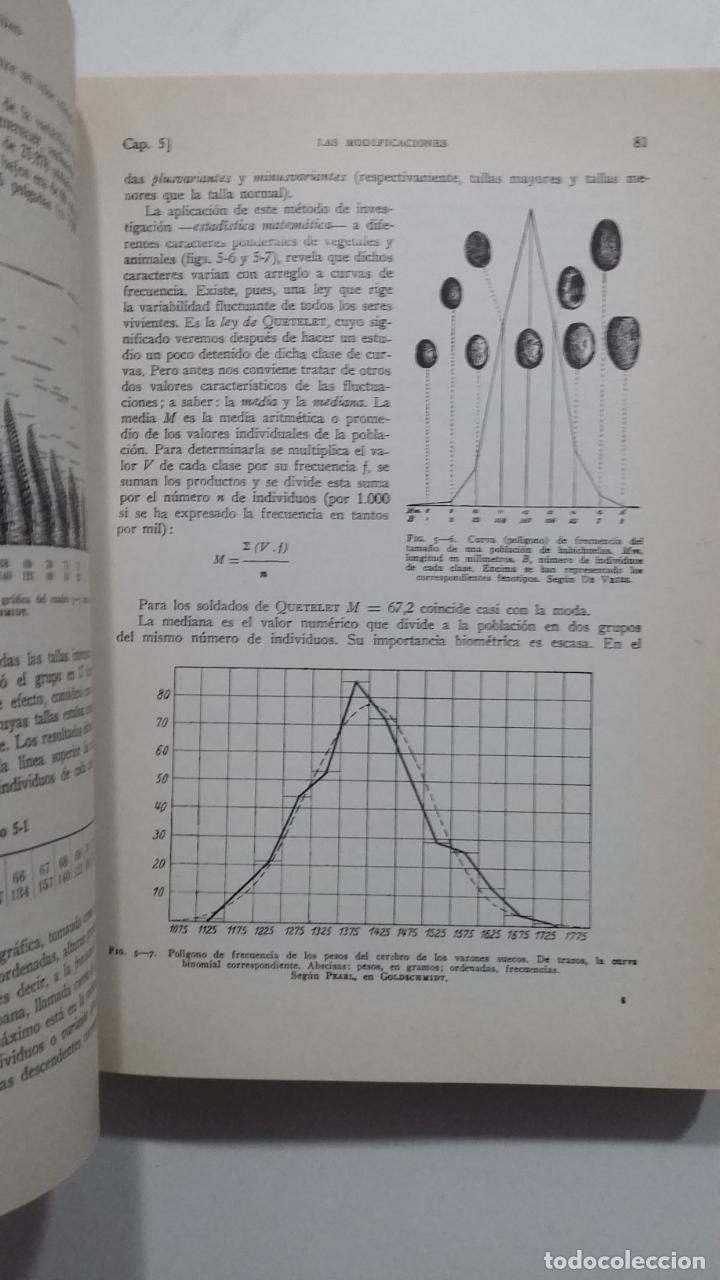 Libros de segunda mano: BIOLOGÍA GENERAL I Y II (2 VOLÚMENES) SALUSTIO ALVARADO. TDK422 - Foto 2 - 183865333