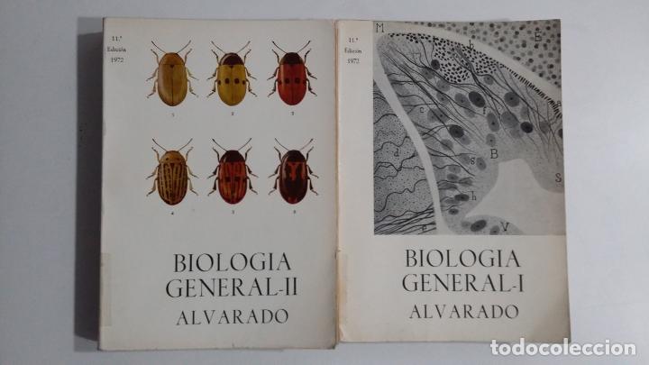 BIOLOGÍA GENERAL I Y II (2 VOLÚMENES) SALUSTIO ALVARADO. TDK422 (Libros de Segunda Mano - Ciencias, Manuales y Oficios - Biología y Botánica)