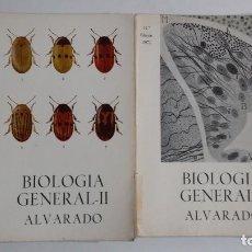 Libros de segunda mano: BIOLOGÍA GENERAL I Y II (2 VOLÚMENES) SALUSTIO ALVARADO. TDK422. Lote 183865333