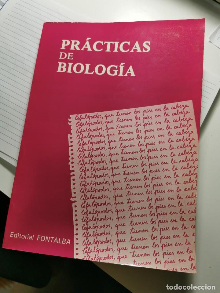 PRACTICAS DE BIOLOGIA (VARIOS AUTORES) (Libros de Segunda Mano - Ciencias, Manuales y Oficios - Biología y Botánica)