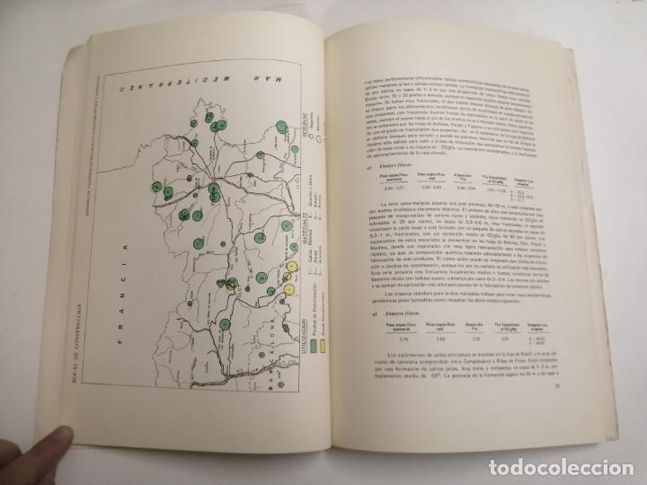 Libros de segunda mano: Mapa de las rocas industriales. Figueras. Instituto geologico y minero de España. 1974 Madrid - Foto 4 - 184344092