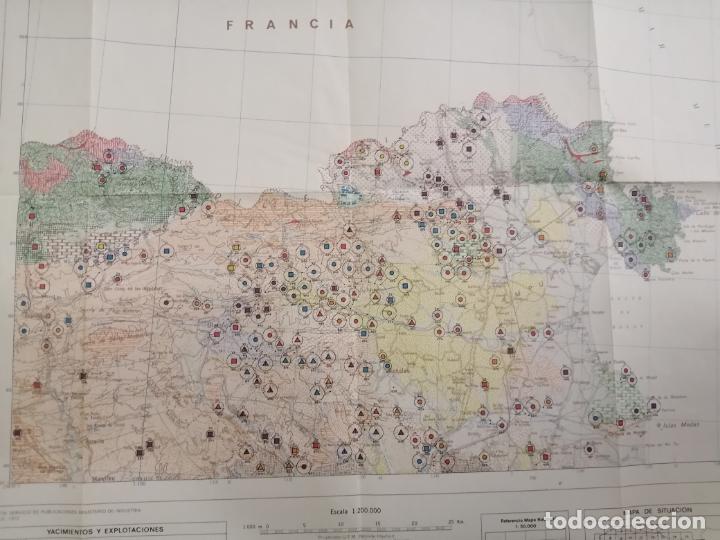 Libros de segunda mano: Mapa de las rocas industriales. Figueras. Instituto geologico y minero de España. 1974 Madrid - Foto 9 - 184344092