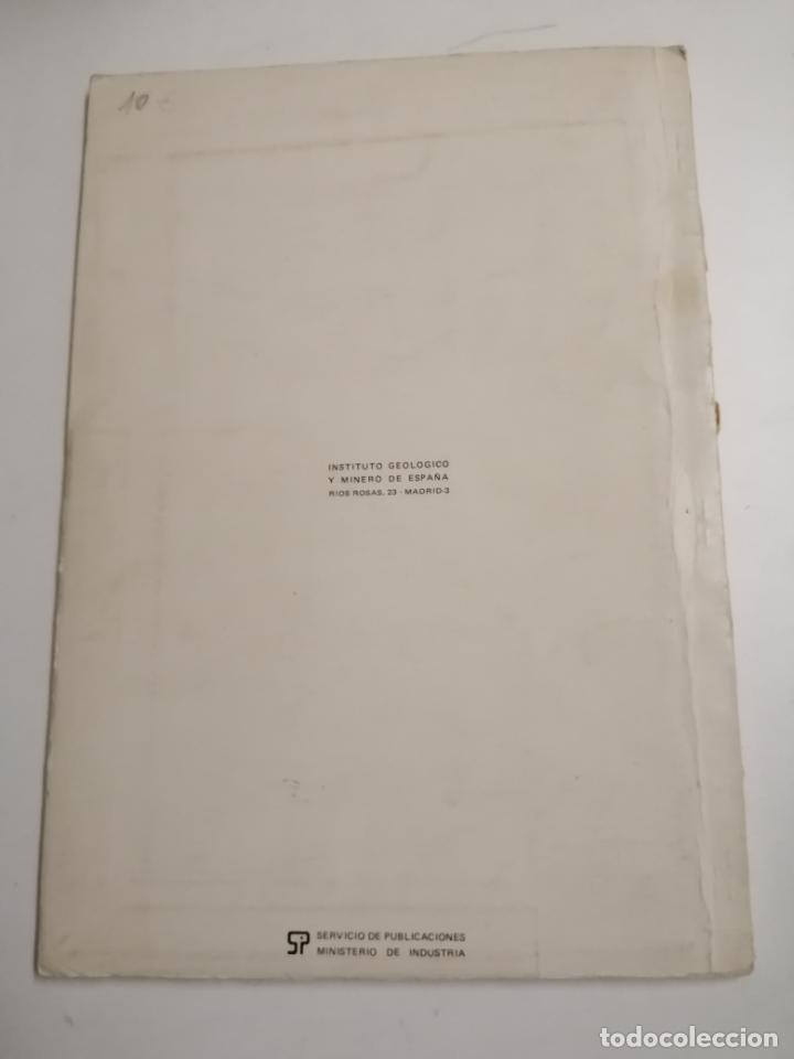 Libros de segunda mano: Mapa de las rocas industriales. Figueras. Instituto geologico y minero de España. 1974 Madrid - Foto 10 - 184344092