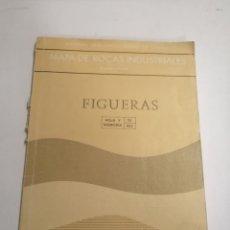 Libros de segunda mano: MAPA DE LAS ROCAS INDUSTRIALES. FIGUERAS. INSTITUTO GEOLOGICO Y MINERO DE ESPAÑA. 1974 MADRID. Lote 184344092
