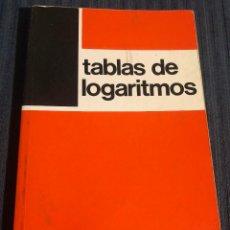 Libros de segunda mano de Ciencias: 'TABLAS DE LOGARITMOS'. MATEMÁTICAS. EDITORIAL BRUÑO. EDICIÓN 1984. BUEN ESTADO.. Lote 184436342