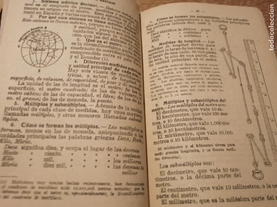 Libros de segunda mano de Ciencias: RESUMEN DE LAS LECCIONES DE ARITMETICA. - Foto 4 - 184492583