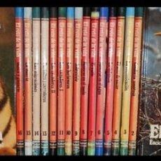Libros de segunda mano: COMPORTAMIENTO ANIMAL. SALVAT. COMPLETA 17 T. AVES. REPTILES. INSECTOS. PECES. MAMIFEROS. COMO NUEVA. Lote 184562342