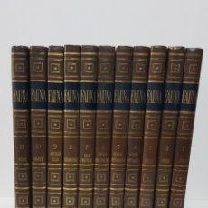 Libros de segunda mano: FAUNA DE SALVAT DE FÉLIX RODRIGUEZ DE LA FUENTE, 11 TOMOS COMPLETA 1970. Lote 184801923