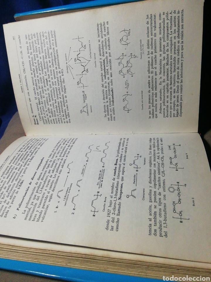 Libros de segunda mano de Ciencias: QUÍMICA ORGÁNICA BÁSICA. WILLIAM A. BONNER /ALBERT J. CASTRO. 1968 - Foto 3 - 185745656