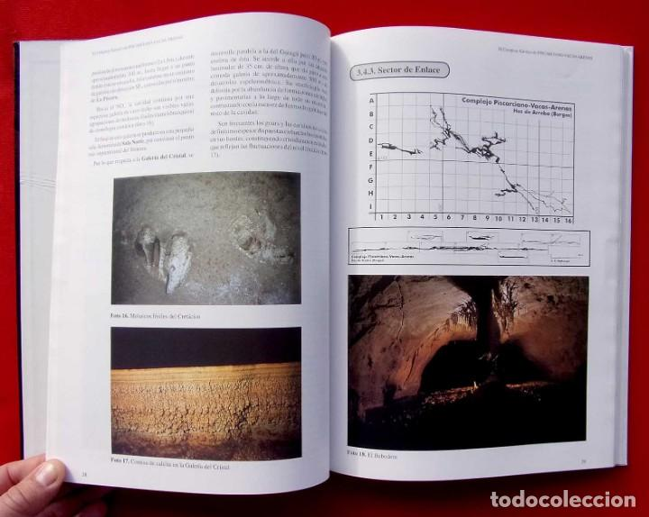 Libros de segunda mano: EL COMPLEJO KÁRSTICO DE PISCARCIANO-VACAS-ARENAS. BURGOS. GRUPO ESPELEOLÓGICO NIPHARGUS. - Foto 3 - 186092370