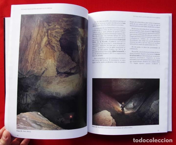 Libros de segunda mano: EL COMPLEJO KÁRSTICO DE PISCARCIANO-VACAS-ARENAS. BURGOS. GRUPO ESPELEOLÓGICO NIPHARGUS. - Foto 4 - 186092370