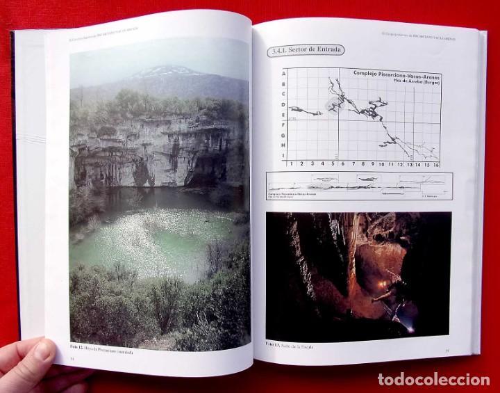 Libros de segunda mano: EL COMPLEJO KÁRSTICO DE PISCARCIANO-VACAS-ARENAS. BURGOS. GRUPO ESPELEOLÓGICO NIPHARGUS. - Foto 7 - 186092370