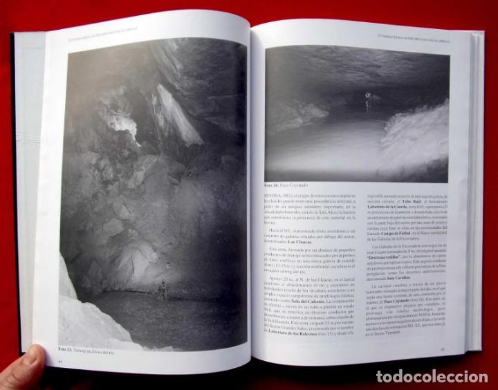 Libros de segunda mano: EL COMPLEJO KÁRSTICO DE PISCARCIANO-VACAS-ARENAS. BURGOS. GRUPO ESPELEOLÓGICO NIPHARGUS. - Foto 8 - 186092370