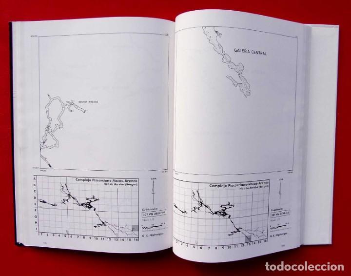 Libros de segunda mano: EL COMPLEJO KÁRSTICO DE PISCARCIANO-VACAS-ARENAS. BURGOS. GRUPO ESPELEOLÓGICO NIPHARGUS. - Foto 9 - 186092370