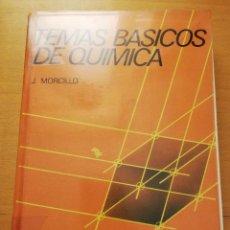 Livros em segunda mão: TEMAS BÁSICOS DE QUÍMICA (J. MORCILLO) ALHAMBRA UNIVERSIDAD. Lote 214644181