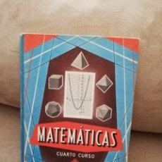 Libros de segunda mano de Ciencias: MATEMÁTICAS CUARTO CURSO - LIBRO DEL MAESTRO - EDELVIVES LUIS VIVES 1965. Lote 186286635