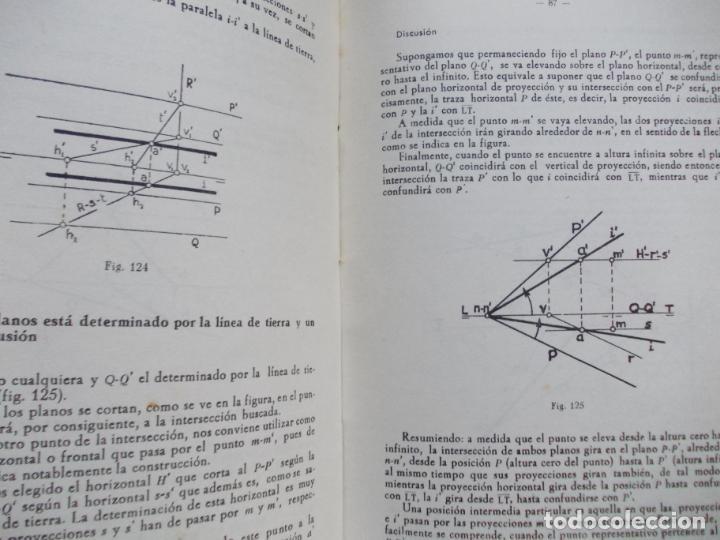 Libros de segunda mano de Ciencias: APUNTES DE GEOMETRÍA DESCRIPTIVA - Foto 3 - 187164593