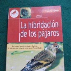Libros de segunda mano: LA HIBRIDACIÓN DE LOS PÁJAROS FAUNA DVE GIANNI RAVAZZI. Lote 187167758