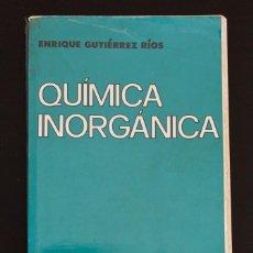 Libros de segunda mano de Ciencias: QUÍMICA INORGÁNICA. Lote 187388322