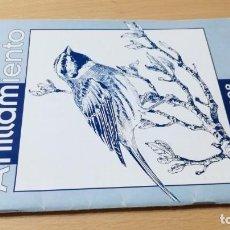 Libros de segunda mano: REVISTA DE ANILLAMIENTO - ORNITOLOGIA/ 1 - 1998/ J503. Lote 187656561