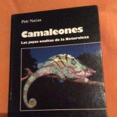 Libros de segunda mano: CAMALEONES LAS JOYAS OCULTAS DE LA NATURALEZA PETR NEČAS. Lote 188410663
