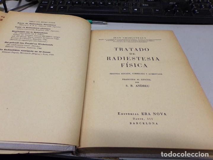 Libros de segunda mano de Ciencias: Tratado de radiestesia física - Jean Charloteaux - Foto 2 - 188460433