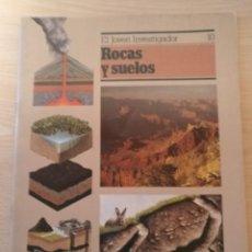 Libros de segunda mano: LIBRO EL JOVEN INVESTIGADOR Nº 10 ROCAS Y SUELOS OXFORD 1986 TERRY JENNINGS. Lote 188597810