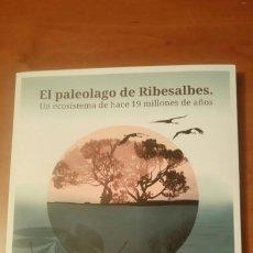 Libros de segunda mano: EL PALEOLAGO DE RIBESALBES (CASTELLÓN) PEÑALVER PALEONTOLOGÍA. 2016. Lote 188813707