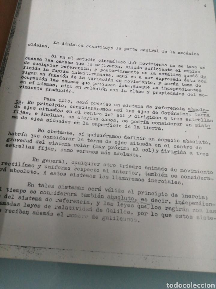 Libros de segunda mano de Ciencias: Apuntes de Dinámica y Estática de la Catedra de Mecánica de la ETSIIM - Foto 2 - 189081458