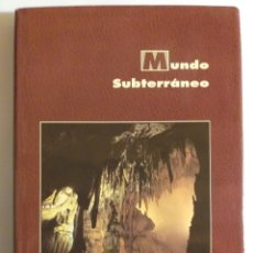 Livres d'occasion: MUNDO SUBTERRÁNEO . ENRESA . CUEVA DE VALPORQUERO GRUTA DE . GRUTAS DE CRISTAL CUEVA DEL COBRE CUEV. Lote 189590277