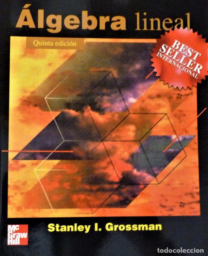 ALGEBRA LINEAL - STANLEY I. GROSSMAN - MC GRAW HILL (Libros de Segunda Mano - Ciencias, Manuales y Oficios - Física, Química y Matemáticas)