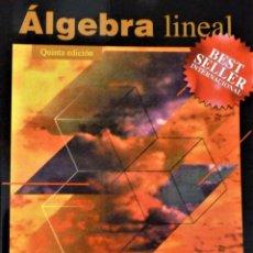 Libros de segunda mano de Ciencias: ALGEBRA LINEAL - STANLEY I. GROSSMAN - MC GRAW HILL. Lote 189594811