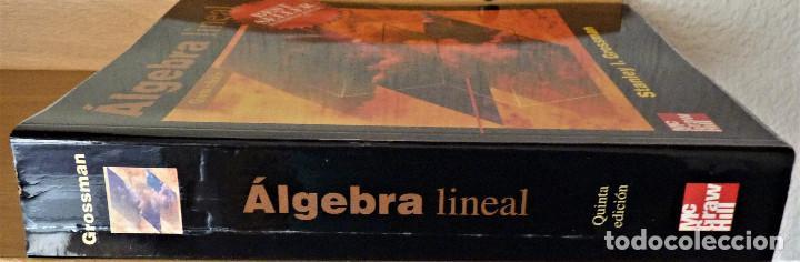 Libros de segunda mano de Ciencias: ALGEBRA LINEAL - STANLEY I. GROSSMAN - MC GRAW HILL - Foto 3 - 189594811