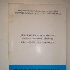Libri di seconda mano: DIETAS ARTIFICIALES EN INSECTA (EXCEPTO LEPIDOPTERA Y COLEOPTERA). UN COMPENDIO DE REFERENCIAS 1982. Lote 189630213