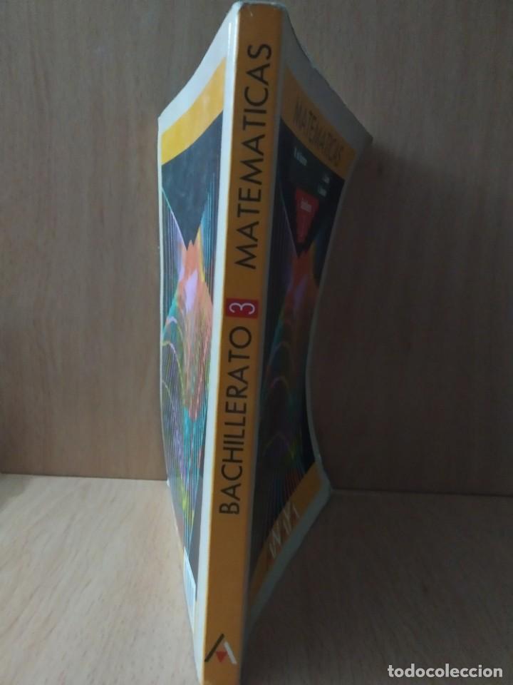 Libros de segunda mano de Ciencias: Matemáticas, Bachillerato 3. ANAYA.1992 - Foto 2 - 189971990