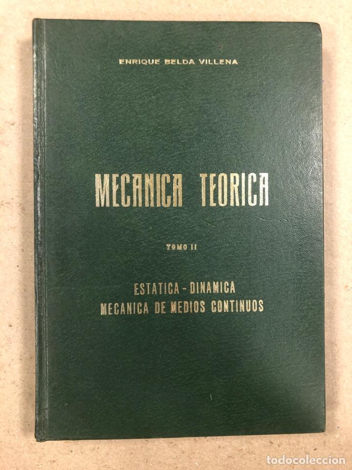 Libros de segunda mano de Ciencias: MECÁNICA TEÓRICA. ENRIQUE BELDA VILLENA. 2 TOMOS. EDITADO POR EL AUTOR 1968. - Foto 9 - 190303317