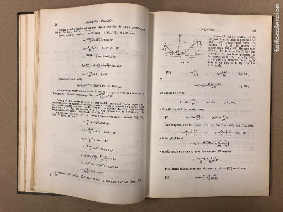 Libros de segunda mano de Ciencias: MECÁNICA TEÓRICA. ENRIQUE BELDA VILLENA. 2 TOMOS. EDITADO POR EL AUTOR 1968. - Foto 12 - 190303317
