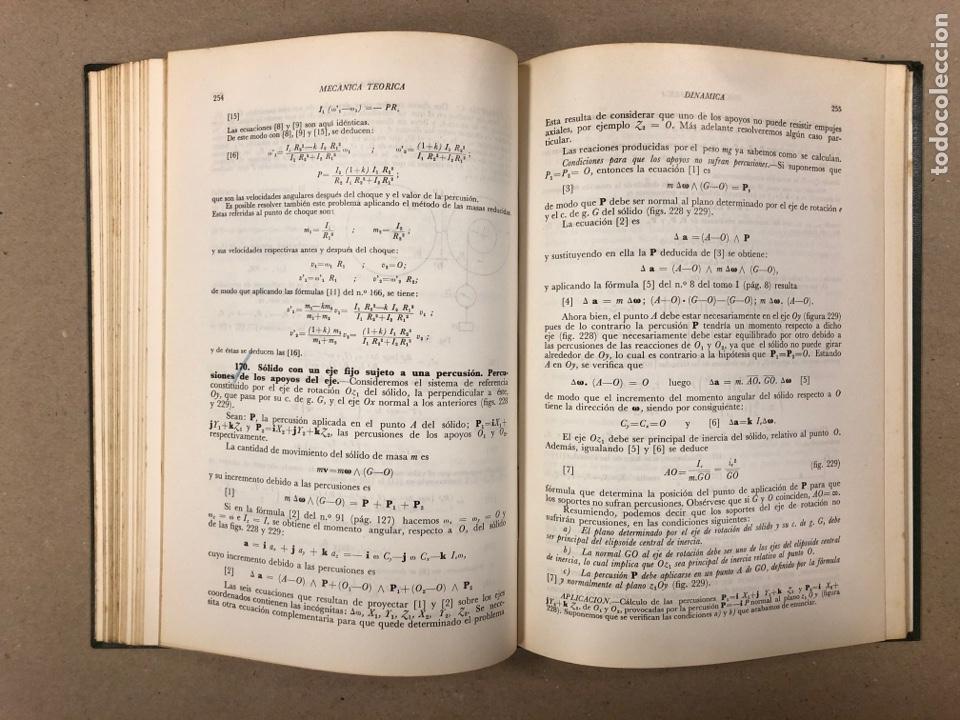 Libros de segunda mano de Ciencias: MECÁNICA TEÓRICA. ENRIQUE BELDA VILLENA. 2 TOMOS. EDITADO POR EL AUTOR 1968. - Foto 14 - 190303317