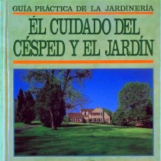 Libros de segunda mano: CUIDADO DEL CÉSPED Y JARDÍN - DAVID PYCRAFT. Lote 190541205