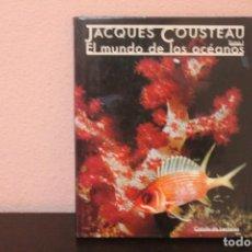 Libros de segunda mano: DOS LIBROS JACQUES COUSTEAU TOMO 1 Y 2 OBRA COMPLETA. Lote 190645060