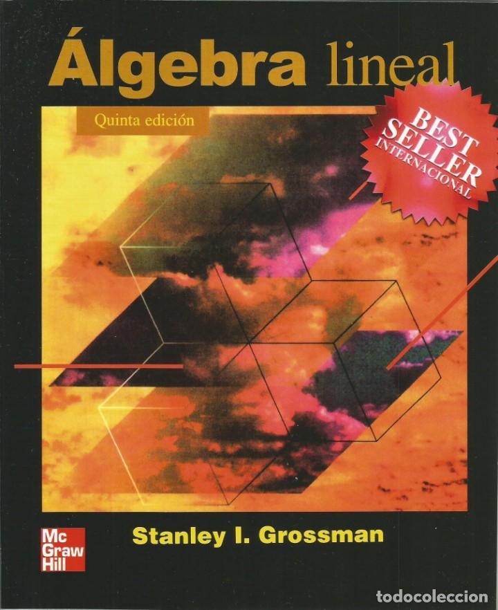 ÁLGEBRA LINEAL. STANLEY GROSSMAN. QUINTA EDICIÓN. (Libros de Segunda Mano - Ciencias, Manuales y Oficios - Física, Química y Matemáticas)