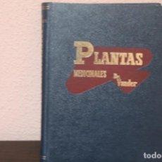 Libros de segunda mano: PLANTAS MEDICINALES POR DR. ADRIAN VANDER AÑO 1970. Lote 190844000