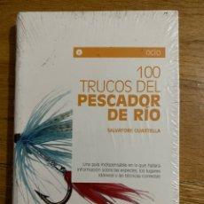 Livres d'occasion: 100 TRUCOS DEL PESCADOR DE RÍO. Lote 191121111