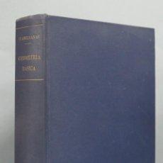 Libros de segunda mano de Ciencias: GEOMETRIA BASICA. P. ABELLANAS. Lote 191174311